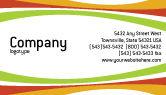 Food & Beverage: Vegetarian Food Business Card Template #02582