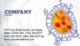 Medical: Cytology Business Card Template #02595