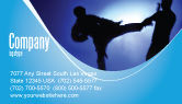 Sports: Martial Art Business Card Template #02724
