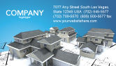 Construction: Hausbau Visitenkarte Vorlage #02955