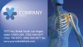 Medical: Bones Business Card Template #03063