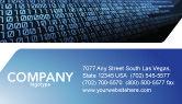 Technology, Science & Computers: 명함 템플릿 - 컴퓨터 #03128