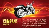 Cars/Transportation: Modello Biglietto da Visita - Bicicletta #03188