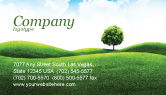 Nature & Environment: Meadow Business Card Template #03213