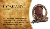 America: Templat Kartu Bisnis Sepatu Cowboy #03224