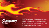 Abstract/Textures: Fire Flame Business Card Template #03234