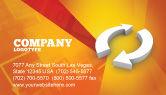 3D: Refresh Business Card Template #03278
