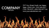Abstract/Textures: Fire Business Card Template #03282
