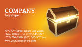 Business Concepts: Treasure Business Card Template #03343