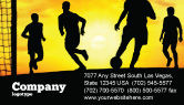 Sports: European Football Business Card Template #03372