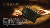 Religious/Spiritual: Christianity Business Card Template #03436