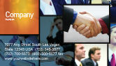 Business: 有效的客户关系管理名片模板 #03437
