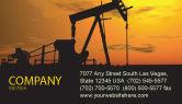 Utilities/Industrial: 명함 템플릿 - 석유 생산국 #03444