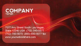 Abstract/Textures: Red Texture Business Card Template #03461