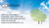 Nature & Environment: Greenery Business Card Template #03479