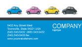 Cars/Transportation: Minicars Business Card Template #03491