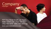 People: Quarrel Business Card Template #03502