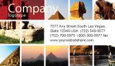Careers/Industry: Modello Biglietto da Visita - Viaggiante #03640