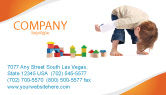 Education & Training: Child Games Business Card Template #03642