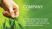 Agriculture and Animals: Plant Breeding Business Card Template #03655