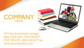 Education & Training: Computer Study Business Card Template #03659
