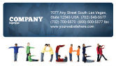 Education & Training: Teacher of Class Business Card Template #03723