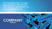 Medical: Bacillus Business Card Template #03757