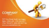 3D: Particulars Business Card Template #03847