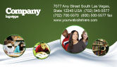 Education & Training: Modello Biglietto da Visita - Apprendimento difficile #03854