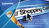 Business: e-Shopping Cart Business Card Template #03878