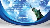 America: Templat Kartu Bisnis Amerika Dan Dunia #03882