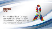 Religious/Spiritual: Ribbon Business Card Template #03914