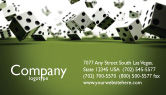 Business: Dice In Game Business Card Template #03923