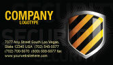 Careers/Industry: Occupational Safety Business Card Template #03946