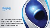 Nature & Environment: Plantilla de tarjeta de visita - luminaria #04043