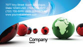 Global: Another World Business Card Template #04074