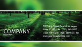 Nature & Environment: Woods Business Card Template #04082