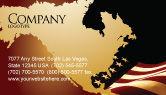 America: Modello Biglietto da Visita - Old glory usa flag #04083