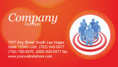 Consulting: Target Audience Business Card Template #04187