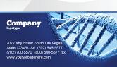 Medical: DNA Molecular Structure Business Card Template #04245