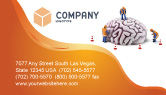 Construction: Smart Thinking Business Card Template #04279