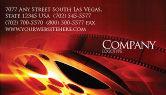 Art & Entertainment: Modello Biglietto da Visita - Filmmaking #04295