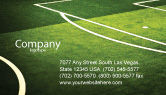Sports: Football Duel Business Card Template #04410