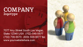 Consulting: Staff Business Card Template #04455