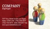 Consulting: Templat Kartu Bisnis Staf #04455