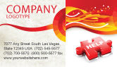 Consulting: Help Puzzle Business Card Template #04470