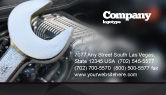 Utilities/Industrial: Car Repair Business Card Template #04522