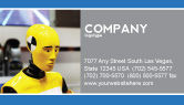 Careers/Industry: Dummy Business Card Template #04542