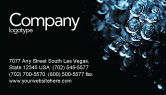 Nature & Environment: Water Drops Business Card Template #04555
