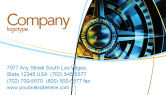 Consulting: Course Business Card Template #04557